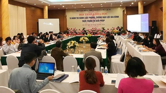 Conference reviews implementation of anti-domestic violence law in 10 years hinh anh 1
