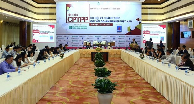 Connectivity essential for businesses when joining CPTPP: seminar hinh anh 1