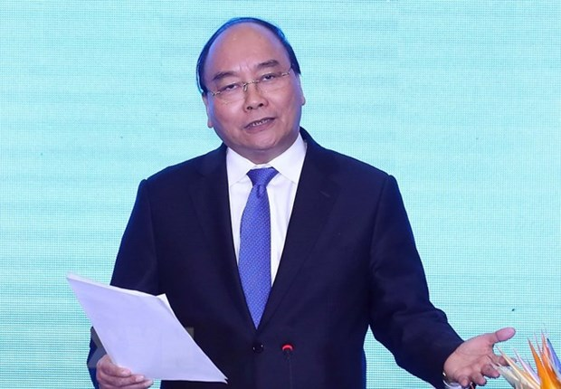 PM Nguyen Xuan Phuc pledges support to young startups hinh anh 1
