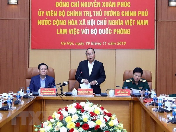 Heed always paid to building modern regular army: PM hinh anh 1