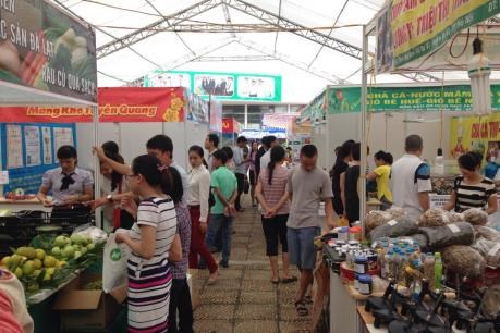 Red River Delta Industry & Trade Fair opens in Vinh Phuc hinh anh 1