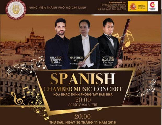 Spanish chamber music comes to HCM City hinh anh 1
