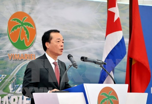 Viglacera starts construction of first IP at Cuban special economic zone hinh anh 1