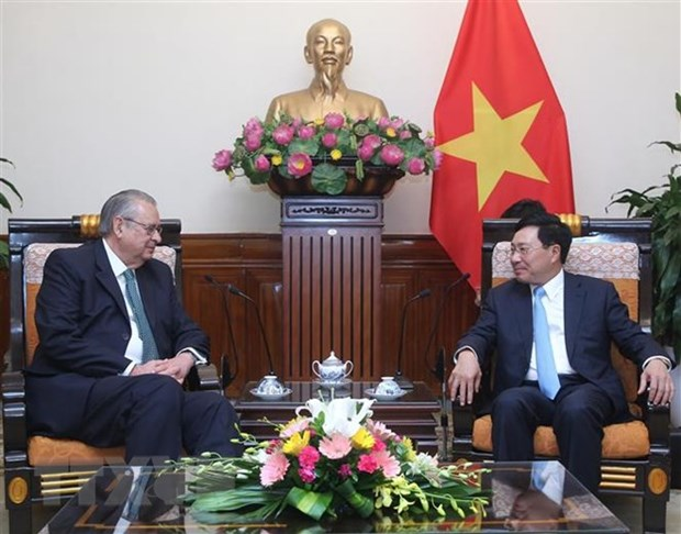 Deputy PM hosts APEC Vision Group Chair hinh anh 1