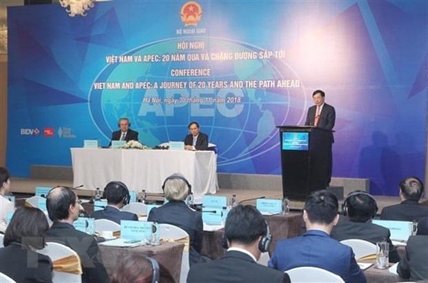 Conference looks at Vietnam's 20-year APEC membership hinh anh 1