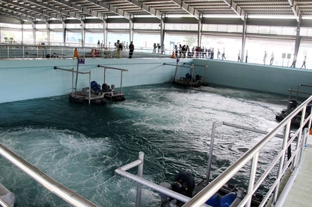 More wastewater treatment plant inaugurated in Binh Duong hinh anh 1