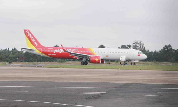 Vietjet flight encounters landing problem at Buon Ma Thuot airport hinh anh 1