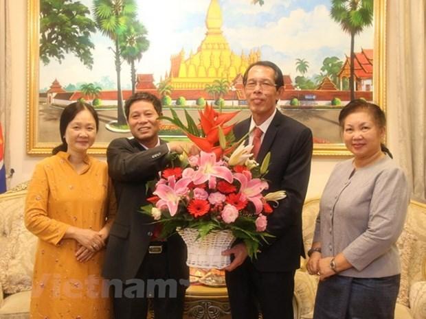 Vietnamese Embassy in Malaysia congratulates Laos on National Day hinh anh 1