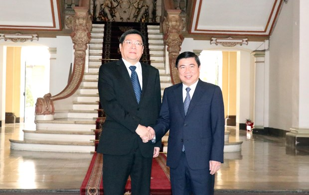 HCM City wants to bolster ties with China's Hunan province hinh anh 1