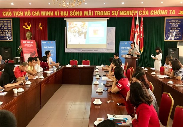 VNRC launches fitness challenge to help needy people hinh anh 1