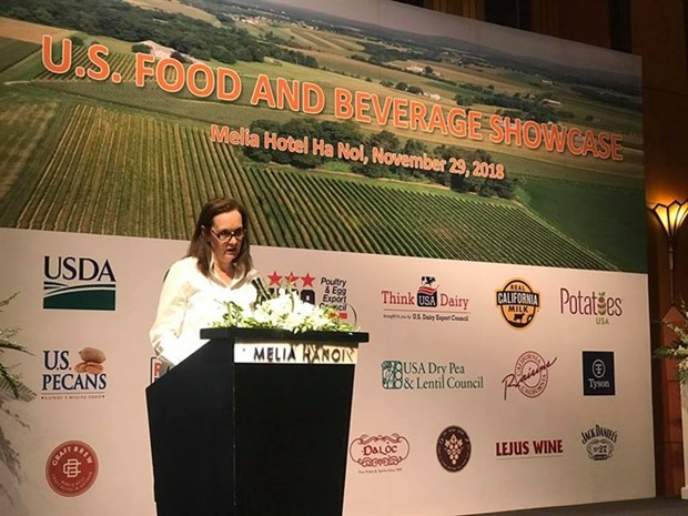 US pushes food exports to Vietnam hinh anh 1