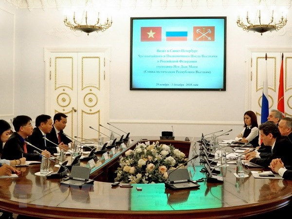 Saint Petersburg plans big for Vietnam Year in Russia hinh anh 1