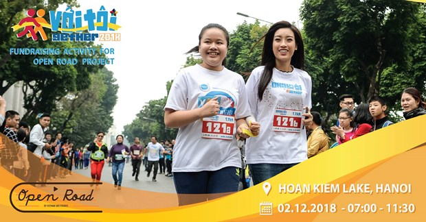 Hanoi race raises public awareness of visually impaired people hinh anh 1
