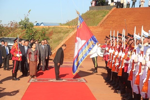 Cambodia marks 40th founding anniversary of solidarity front hinh anh 1