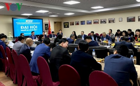 Vietnamese business association in Russia convenes congress hinh anh 1