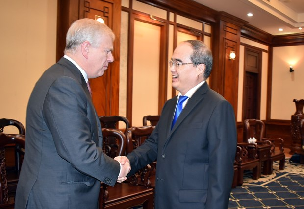 Duke of York welcomed in Ho Chi Minh City hinh anh 1