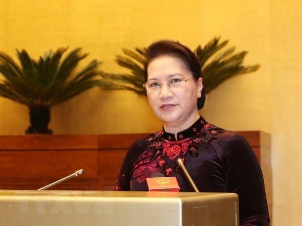 NA Chairwoman Nguyen Thi Kim Ngan to visit RoK hinh anh 1