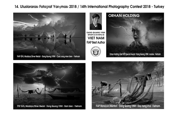 Vietnamese photographers win big at Turkey's int'l contest hinh anh 1