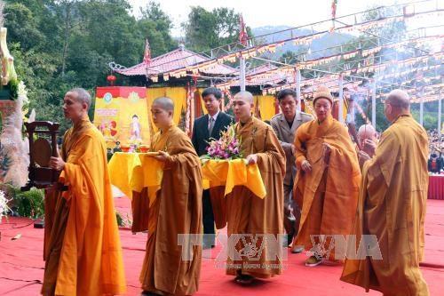 King Tran Nhan Tong's entry into Nirvana to be marked this week hinh anh 1