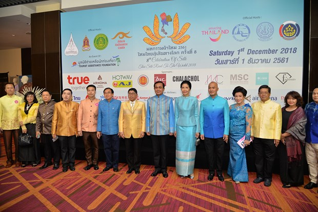 """Thai PM opens """"Thai Silk Road to the World"""" event hinh anh 1"""