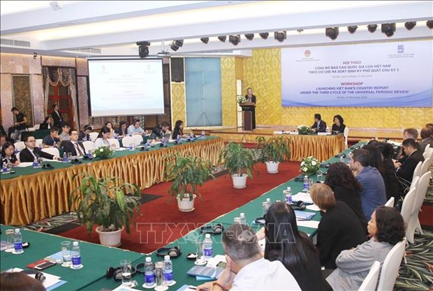Vietnam's third-cycle UPR national report released hinh anh 1