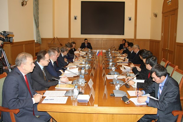 Operation of Vietnam-Russia Tropical Centre under review hinh anh 1