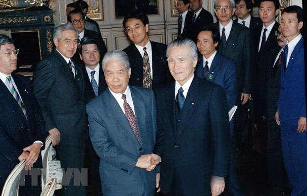 Japan honours late Vietnamese Party leader Do Muoi hinh anh 1