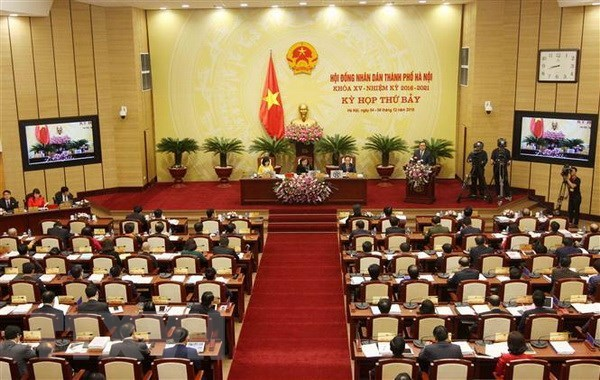 Hanoi People's Council opens seventh session hinh anh 1