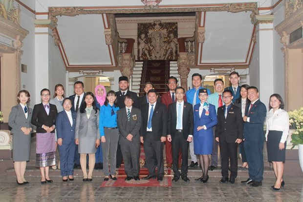 HCM City values Southeast Asia-Japan youth ship visit hinh anh 1