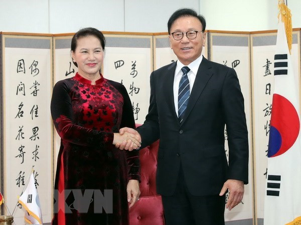 NA Chairwoman hosts Vietnam's Honorary Consul General in RoK region hinh anh 1