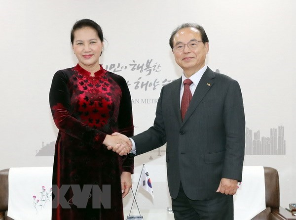 NA Chairwoman: RoK visit aims to boost strategic cooperative partnership hinh anh 1
