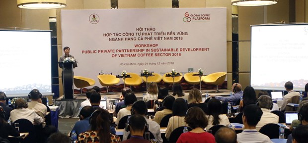 PPPs urged to develop coffee sector sustainably hinh anh 1