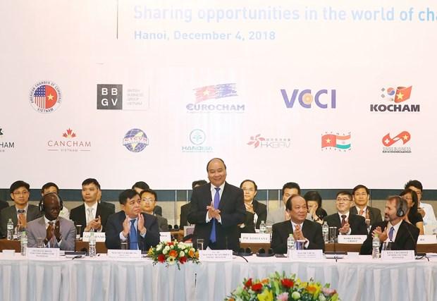 Prime Minister hails businesses' entrepreneurial spirit hinh anh 1