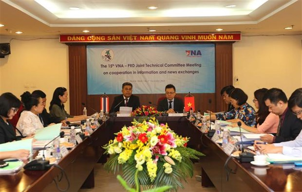 VNA, Thailand's Public Relations Department deepen cooperation hinh anh 1