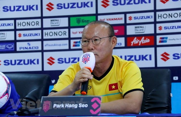 "Korean media commend coach Park's ""magic"" at AFF Cup hinh anh 1"