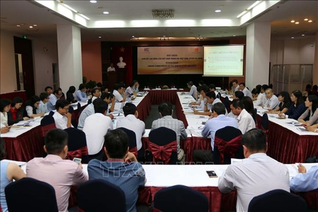 Vietnam's labour commitments to CPTPP, EVFTA discussed hinh anh 1