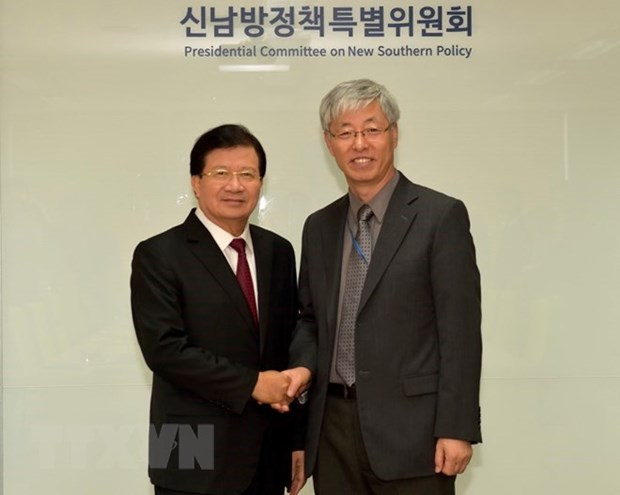 Deputy PM speaks highly of RoK's New Southern policy hinh anh 1