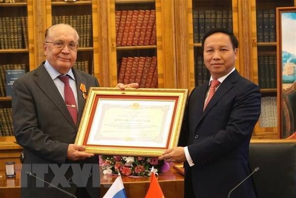Friendship Order granted to Russia's leading university hinh anh 1