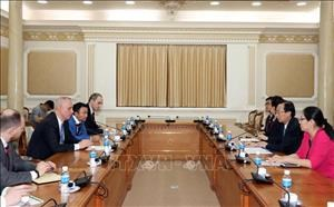 HCM City vows to create optimal conditions for Belarusian firms hinh anh 1
