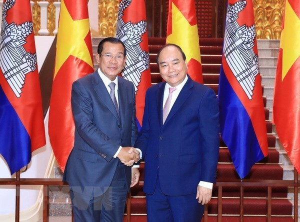 Vietnam, Cambodia enjoy flourishing relations hinh anh 1