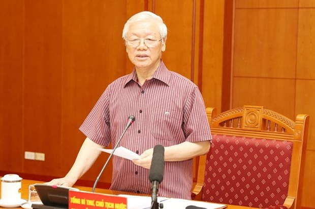Sub-committee on documents of 13th National Party Congress meets hinh anh 1