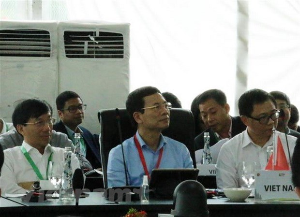 Vietnam attends ASEAN telecom ministers meeting in Indonesia hinh anh 1