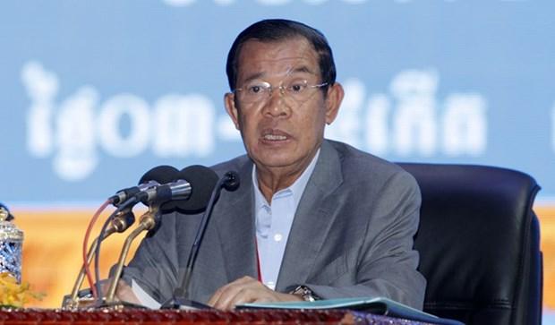 Cambodian Prime Minister begins Vietnam visit hinh anh 1