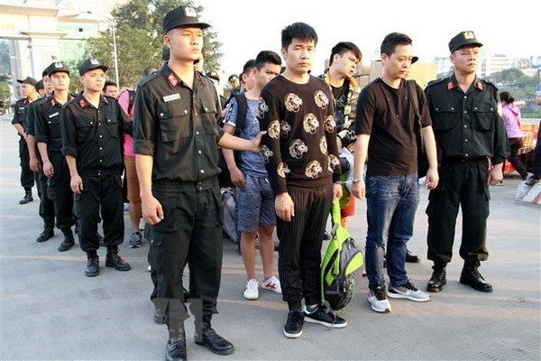 Chinese internet swindlers arrested in Lao Cai province hinh anh 1
