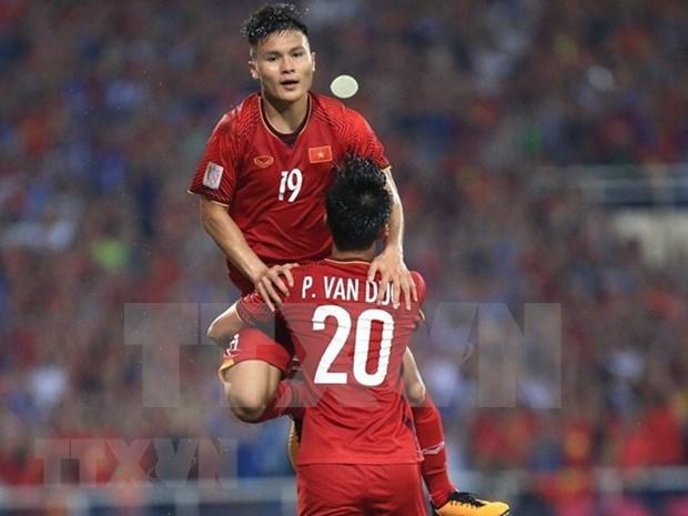 Vietnam enter 2018 AFF Cup finals hinh anh 1