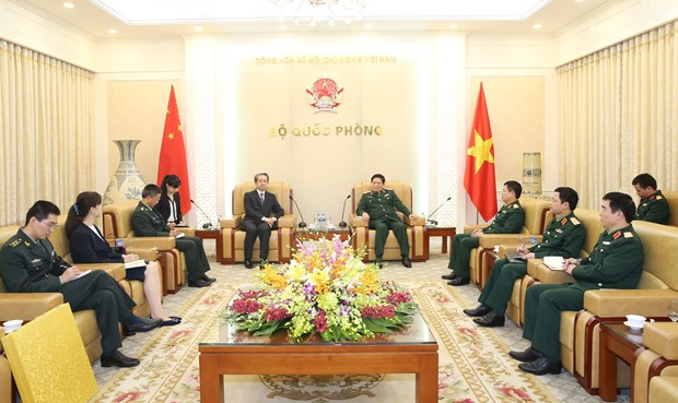New Chinese ambassador vows to promote cooperation with Vietnam hinh anh 1