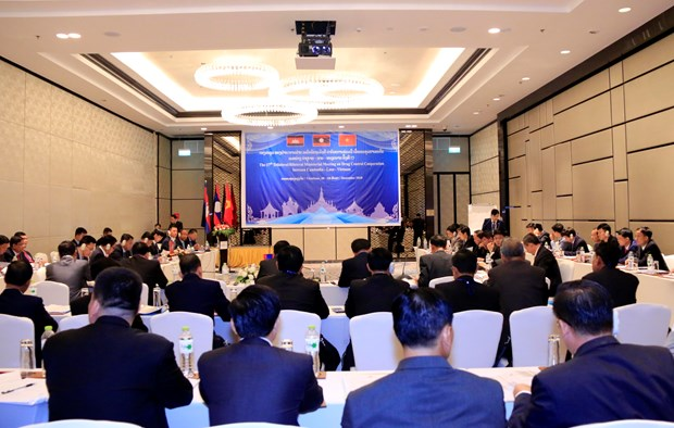 Vietnam, Laos, Cambodia boost anti-drug cooperation hinh anh 1