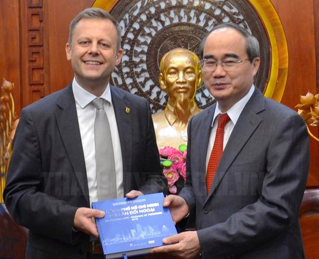 HCM City, Leipzig city of Germany seek cooperation opportunity hinh anh 1