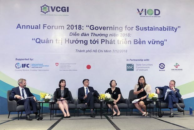 Forum urges companies to govern for sustainability hinh anh 1