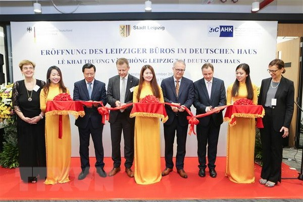 Germany's Leipzig city opens representative office in HCM City hinh anh 1